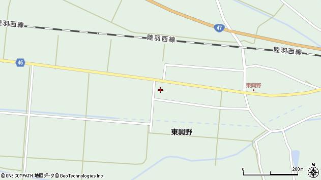 山形県東田川郡庄内町狩川東興野80周辺の地図