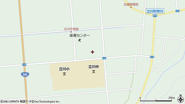 山形県東田川郡庄内町狩川大釜133周辺の地図