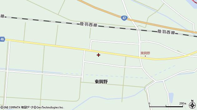 山形県東田川郡庄内町狩川東興野77周辺の地図