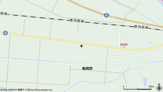 山形県東田川郡庄内町狩川東興野79周辺の地図