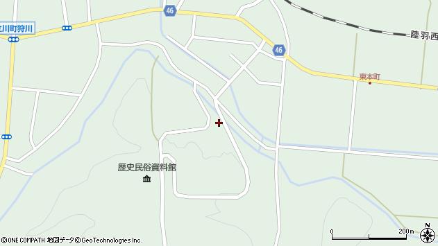 山形県東田川郡庄内町狩川楯山214周辺の地図