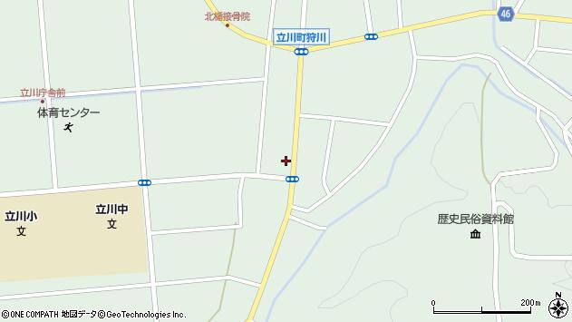 山形県東田川郡庄内町狩川阿古屋61周辺の地図