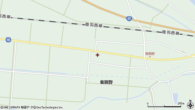山形県東田川郡庄内町狩川東興野76周辺の地図