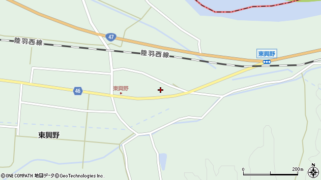 山形県東田川郡庄内町狩川中川原田42周辺の地図
