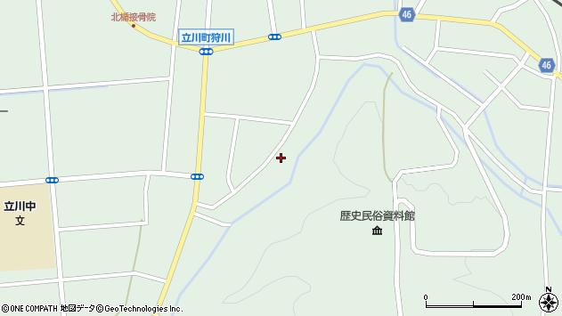 山形県東田川郡庄内町狩川阿古屋146周辺の地図