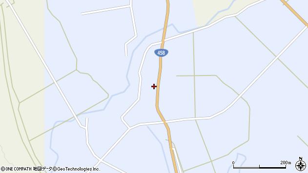山形県最上郡鮭川村川口2834周辺の地図
