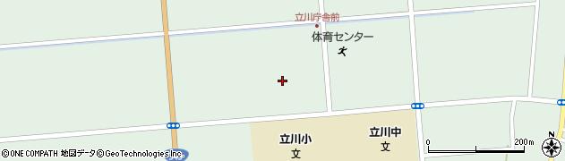 山形県東田川郡庄内町狩川大釜周辺の地図