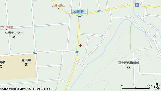 山形県東田川郡庄内町狩川阿古屋63周辺の地図
