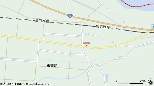 山形県東田川郡庄内町狩川東興野7周辺の地図