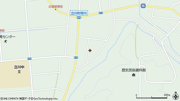 山形県東田川郡庄内町狩川阿古屋100周辺の地図