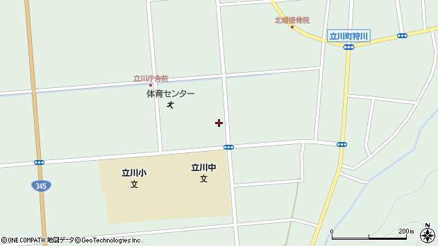 山形県東田川郡庄内町狩川大釜6周辺の地図
