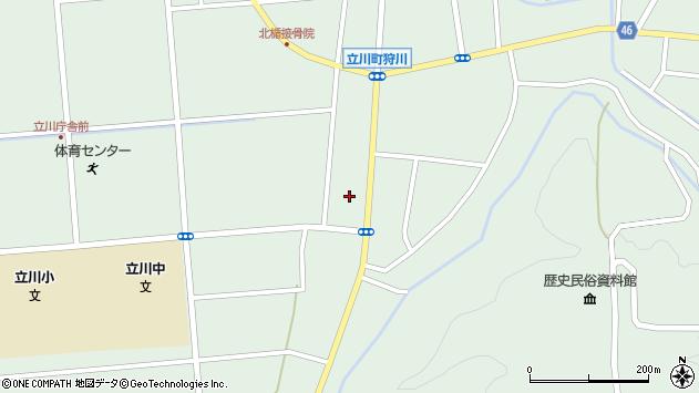 山形県東田川郡庄内町狩川阿古屋65周辺の地図