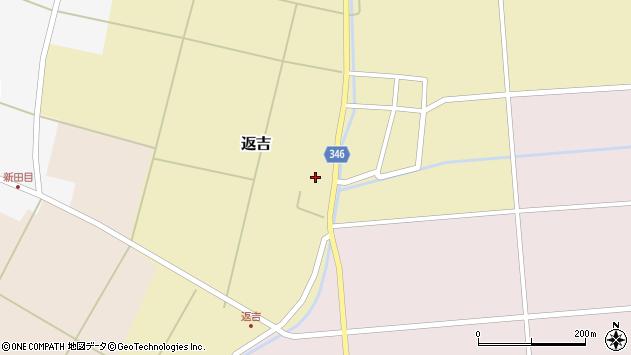 山形県東田川郡庄内町返吉屋敷田41周辺の地図