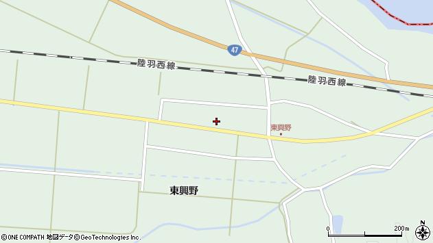 山形県東田川郡庄内町狩川東興野38周辺の地図