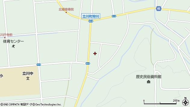 山形県東田川郡庄内町狩川阿古屋67周辺の地図