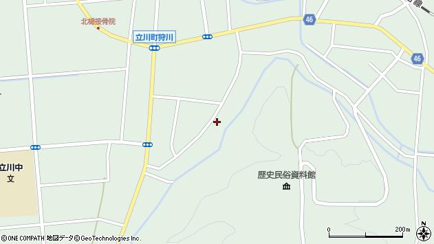 山形県東田川郡庄内町狩川阿古屋147周辺の地図