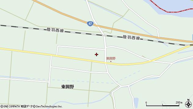 山形県東田川郡庄内町狩川東興野15周辺の地図