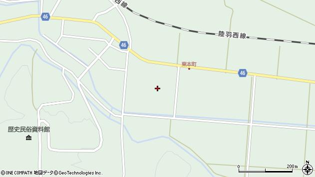 山形県東田川郡庄内町狩川山居20周辺の地図
