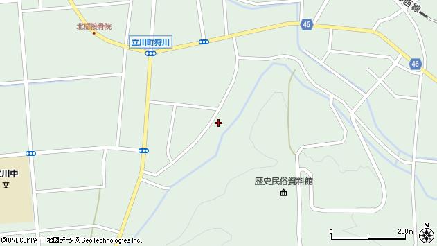 山形県東田川郡庄内町狩川阿古屋148周辺の地図