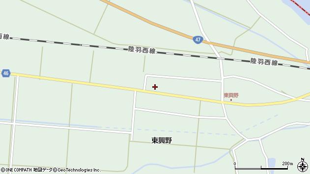 山形県東田川郡庄内町狩川東興野72周辺の地図