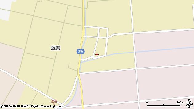 山形県東田川郡庄内町返吉角崎27周辺の地図