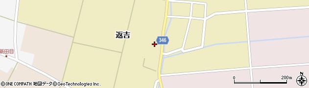 山形県東田川郡庄内町返吉屋敷田42周辺の地図