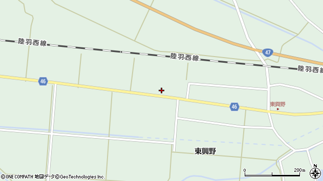山形県東田川郡庄内町狩川内北割53周辺の地図