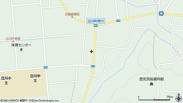 山形県東田川郡庄内町狩川阿古屋74周辺の地図