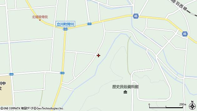 山形県東田川郡庄内町狩川阿古屋150周辺の地図