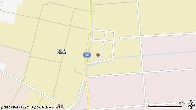 山形県東田川郡庄内町返吉角崎45周辺の地図