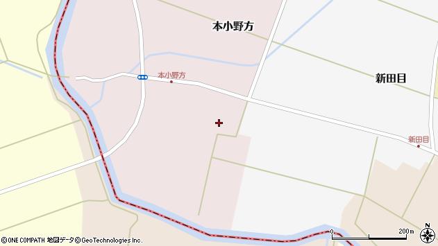 山形県東田川郡庄内町本小野方南割55周辺の地図