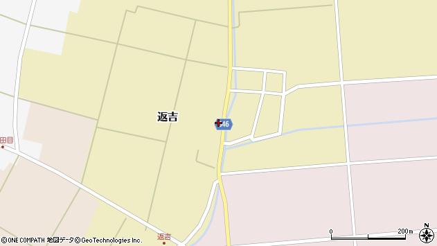山形県東田川郡庄内町返吉屋敷田39周辺の地図