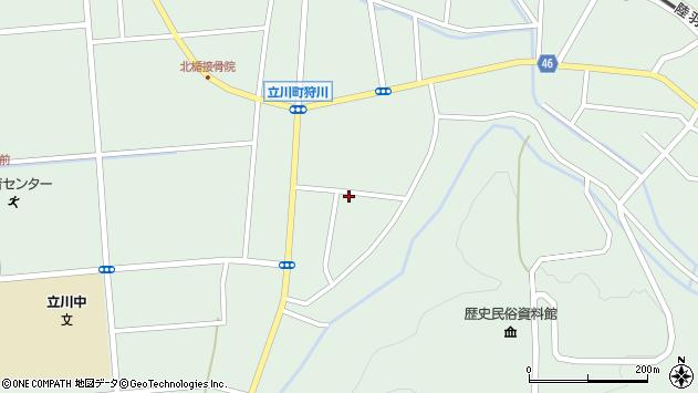山形県東田川郡庄内町狩川阿古屋84周辺の地図