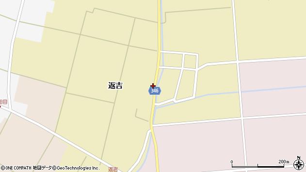 山形県東田川郡庄内町返吉屋敷田38周辺の地図