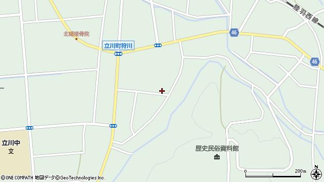 山形県東田川郡庄内町狩川楯下84周辺の地図
