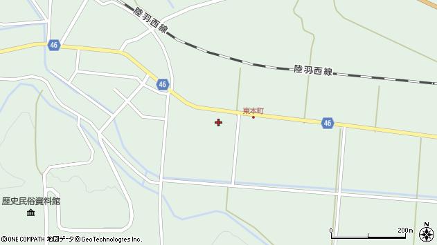 山形県東田川郡庄内町狩川山居25周辺の地図