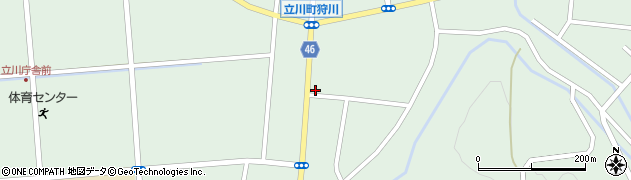 山形県東田川郡庄内町狩川楯下71周辺の地図