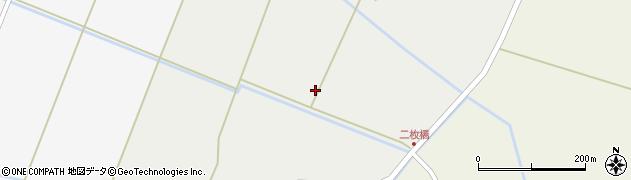宮城県栗原市栗駒菱沼上堰周辺の地図