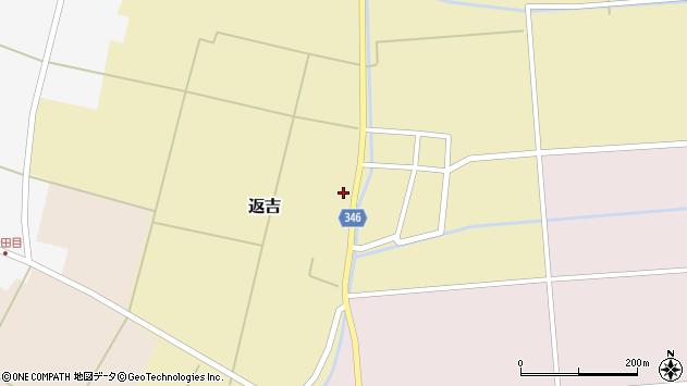 山形県東田川郡庄内町返吉屋敷田37周辺の地図