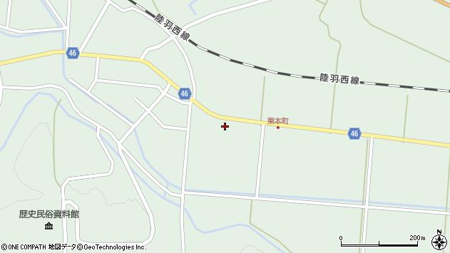 山形県東田川郡庄内町狩川山居26周辺の地図