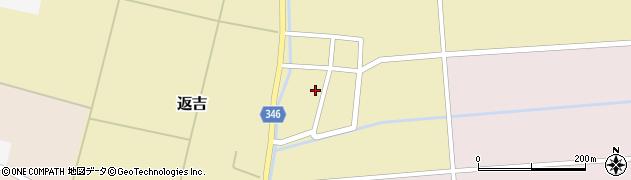 山形県東田川郡庄内町返吉角崎38周辺の地図