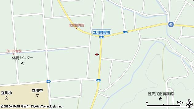 山形県東田川郡庄内町狩川楯下68周辺の地図