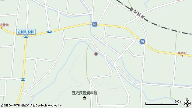 山形県東田川郡庄内町狩川楯山211周辺の地図