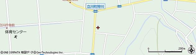 山形県東田川郡庄内町狩川楯下65周辺の地図