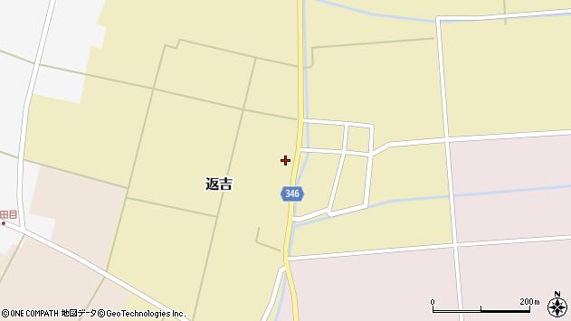 山形県東田川郡庄内町返吉屋敷田36周辺の地図