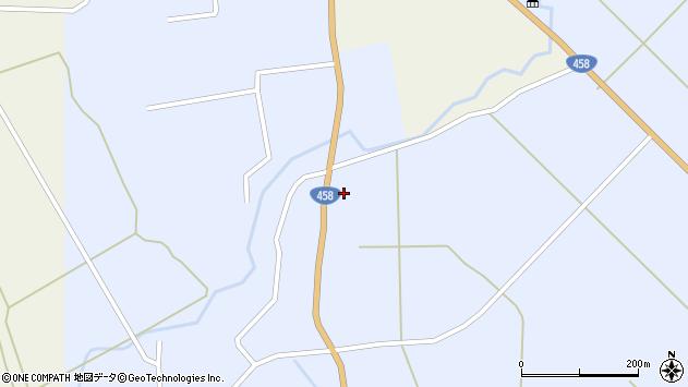 山形県最上郡鮭川村川口1277周辺の地図