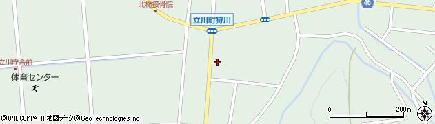 山形県東田川郡庄内町狩川楯下64周辺の地図