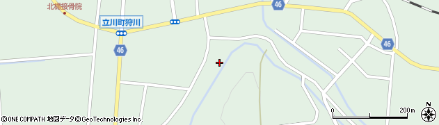 山形県東田川郡庄内町狩川楯下124周辺の地図