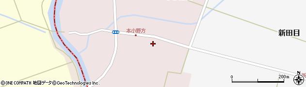 山形県東田川郡庄内町本小野方東割28周辺の地図