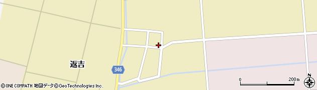 山形県東田川郡庄内町返吉大上48周辺の地図